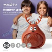 Coluna Bluetooth Design Animal Rudy Reindeer - Nedis