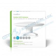 Antena Exterior FM/UHF/VHF 46dB 50Km