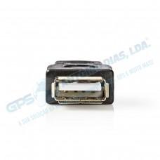 Adaptador Mini USB Para USB A Fêmea