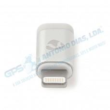 Adaptador de Audio p/Apple 8pin - Nedis