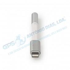 Adaptador de Audio p/Apple 8pin/3.5mm