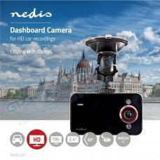 Camara de Gravação Automóvel 720p FHD 60º - Nedis