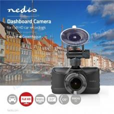 Camara de Gravação Automóvel 1080p FHD 120º - Nedis